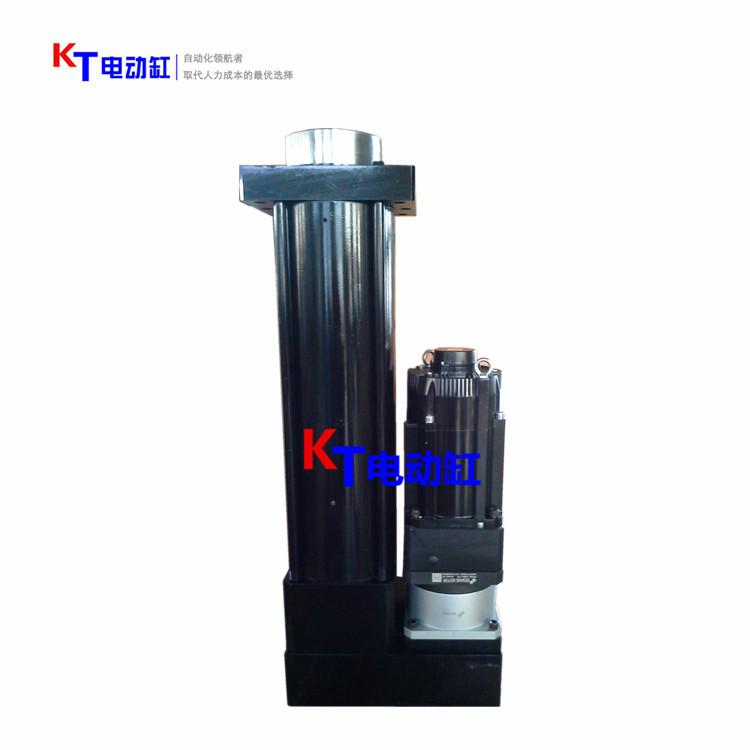 KT大推力伺服電動缸/15T大推力電動缸折疊式—大推力電動缸定制生產