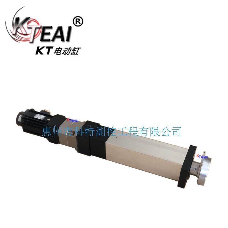 KT电动缸高频率往复运动,电子行业装配