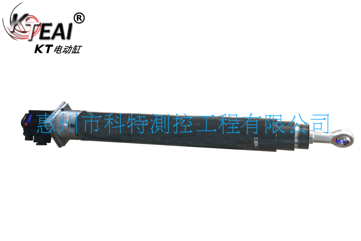 KT多节多级推杆 重载大推力 伺服多节电动缸