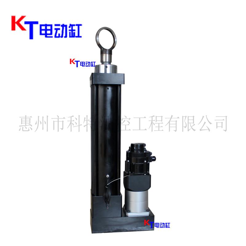 廣東KT廠家供應伺服電動缸 DDG169大推力折疊式 歡迎垂詢